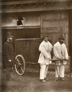 Public Disinfectors From 'Street Life in London', 1877, by John Thomson