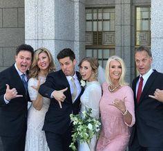 Chris & Alta's wedding day May 11,2017.  LtoR:  Donny & Debbie, Chris & Alta, Alta's parents.