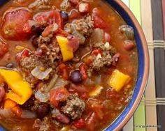 bison chili, serve w brown rice/quinoa, salad of mixed raw rainbow veggies and greens. Greek yogurt/plain full fat yogurt with berries.