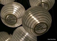 Solar Fairy Christmas Lights Lanterns and Icicle Lights Icicle Lights, Party Lights, Christmas Lights, Outdoor Solar Lanterns, Outdoor Lighting, Solar Fairy Lights, Chinese Lanterns, Christmas Fairy, White Lead