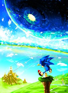 Sonic CD Contest Winner - When You Use Your Mind by ~ellavega on deviantART