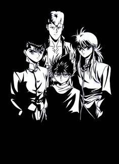 yu yu hakusho by neutelex on DeviantArt Manga Anime, Film Anime, Manga Art, Digimon, Yu Yu Hakusho Hiei, Sailor Moon, Line Art Images, Yoshihiro Togashi, Hunter X Hunter
