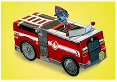 Help fight fires with Marshall and his fire truck!