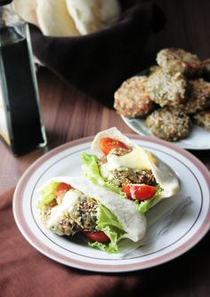 Black-Eyed Peas Falafel (SC note- really good! Leave out onion and serve with tzatziki)