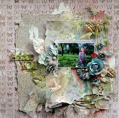 2 Crafty Chipboard : Search results for viney page frame Scrapbook Paper Crafts, Scrapbook Pages, Scrapbook Layouts, Page Frames, Tim Holtz Distress Ink, Polaroid Frame, Crackle Painting, Shabby Chic Cards, Wedding Scrapbook