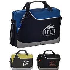 Very Cool Budget Priced Computer Brief Case $5.38/each Executive Promotional Products: Customized Rubble Brief Bag