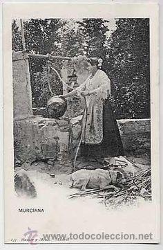 MURCIA. MURCIANA. HAUSER Y MENET 237. REVERSO SIN DIVIDIR. SIN CIRCULAR (Postales - España - Murcia Antigua (hasta 1.939))