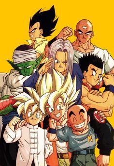 ドラゴンボールカレンダー1993 - Published by Animetopia / Bird Studio / Toei Animation /Fuji TV - Source : Scan from personal collection