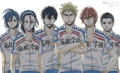 Yowamushi Pedal, Yamaguchi, Anime, Hipster Stuff