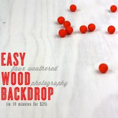 #12 of 40 Easy Weathered Wood Photo Backdrop  Just added my InLinkz link here: http://www.kristendukephotography.com/photo-booth-diy-backdrop-ideas/#_a5y_p=1862777