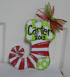 Carrot Door Hanger for EASTER or SPRING by ArtByAudet on Etsy