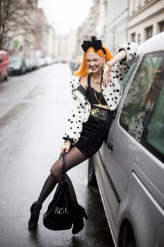 Bonnie strange, one of my idols because she does and wears what she wants and that s entirely shameless of her, love her