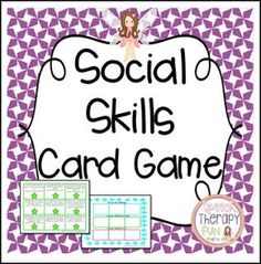"""FREE LESSON - """"Social Skills Card Game"""" - Go to The Best of Teacher Entrepreneurs for this and hundreds of free lessons. 5th - 8th Grade  #FreeLesson   http://thebestofteacherentrepreneursiv.blogspot.com.co/2016/04/free-misc-lesson-social-skills-card-game.html"""