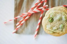 Chewy Matcha Chip Cookies with recipe for matcha chips (!!!)