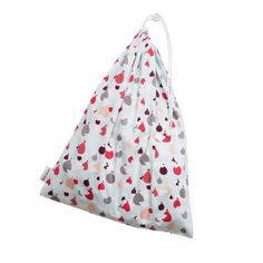 Lillie Collection Laundry Bag in Hot Air Balloons print- by Bebe au Lait