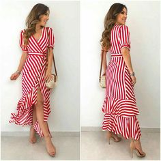 Casual Dresses, Short Dresses, Summer Dresses, Chic Outfits, Fashion Outfits, Dress Neck Designs, Western Dresses, Modest Fashion, Look Fashion