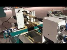 Double rotary cnc wood lathe with spindle - YouTube Cnc Wood Lathe, Cnc Spindle, Rotary, Youtube, Youtubers, Youtube Movies