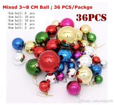 Mixed 3~8cm Multi Color Plastic Ball Christmas Tree Ornament Christmas Balls Decorantion Festice Festive Party Supplies Christmas Decorations Buy Online Christmas Decorations Catalogs From Cathywang168, $11.66| Dhgate.Com