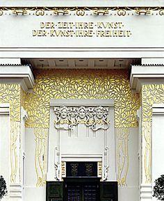 Jugendstil Museum Entrance, Wien
