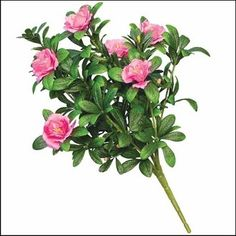 Outdoor Artificial Pink Azalea Bush *** To view further for this item, visit the image link.