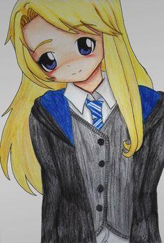Luna Lovegood anime drawing