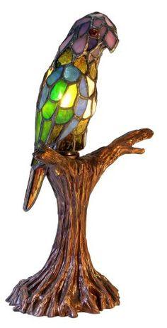 Tiffany-style Parrot Accent Lamp Warehouse of Tiffany's http://www.amazon.com/dp/B002UUTJP0/ref=cm_sw_r_pi_dp_aRK3vb1A4Z58K