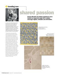 """Dorian Miroddi and Sabina Ungeheuer have landed an impressive gig with a simple message: digital, relatable and affordable. Read more http://editiondigital.net/publication/?i=311582#{""""issue_id"""":311582,""""page"""":58}"""