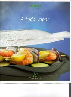 Using the Varoma and TM basket accessories, this book shows you how to cook healthy steamed food in the Thermomix, whilst maximising the qua. Food N, Food And Drink, Steam Recipes, Cooking Recipes, Healthy Recipes, Food Videos, Slow Cooker, Healthy Eating, Nutrition