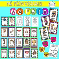 """posters as gaeilge based on the theme of """"Mé Féin"""" Also includes: worksheets """"Mé Féin"""" header Native American Quotes, Native American Symbols, Native American Women, Native American History, American Indians, Irish Language, Irish Quotes, Spirit Guides, Worksheets"""