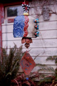 16 Best Ceramic Bells Images Wind Chimes Ceramics