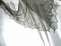 Ravelry: A-Kos GREEN MIRACLE - Ginko shawlette free pattern