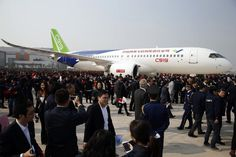 C919 pesawat sipil komersial pertama buatan China terbang perdana di Shanghai | pt rifan financindo berjangka solo     China sudah berm...