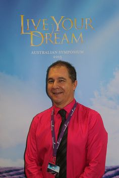 Essential Oils We Trust's, Paul Pike at Young Living Australian Symposium 'Live your Dream', Gold Coast, 2015.
