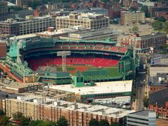 Love top of the Hub - good food and fantastic views!! - Fenway Park from Top of the Hub