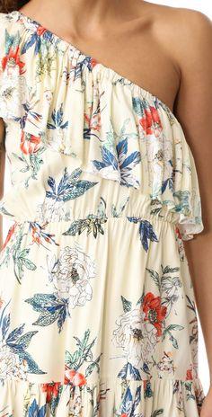 MINKPINK Garden Party One Shoulder Dress   SHOPBOP