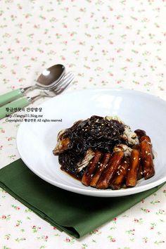 색다른 맛! 짜장떡볶이 만들기, 방학간식 레시피 – 레시피 | Daum 요리