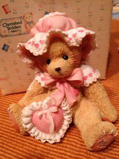 Nancy Your Friendship Makes My Heart Sing 1993 Retired Cherished Teddies | eBay