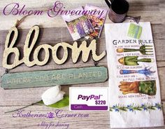 Sew Crafty Angel: Bloom Giveaway @ Sew Crafty Angel
