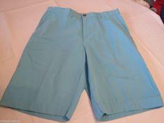 Men's Tommy Hilfiger 7845133 Blue Mist - PT 428 shorts casual 32 W Classic NEW