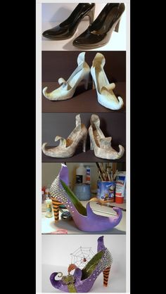 Cool up cycle for old shoes