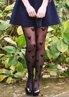 Mickey Mouse tights