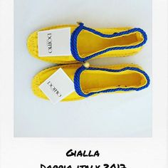 Good morning 🤗🤗  New color @doppio_italy for the collection spring / summer 2017 handmade   Soonnnnnnn >>> site officiel   #mood #style #fashionstyle #look #gialla #corde #milano #cannes #paris #mode #newbrand #fashion #fashionblogger #espadrilles #color #creative #art #artist #summer2017 #summer #playa #beach #spring