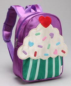 Another great find on #zulily! Lilac Cupcake Backpack by Princess Expressions #zulilyfinds