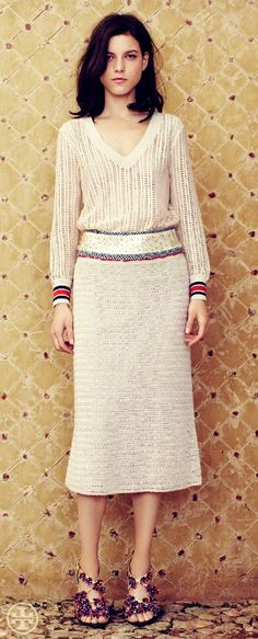 Tennis Whites Go Global | Tory Burch Spring 2013