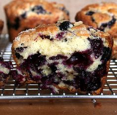 Tried and true blueberry muffins