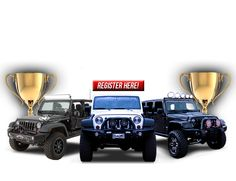 Grand Opening at Morris Center Jeep Event April Pompano, Florida. Morris 4x4 Center, Jeep Parts, 4x4 Trucks, Jeep Life, Grand Opening, Special Events, Monster Trucks, Wisdom, Opening Day
