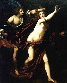 Giovanni Biliverti 1576-1644 Italy Apollo and Daphne.