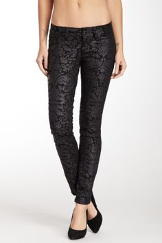 subtle black printed skinnies. | Fall/Winter I Want. | Pinterest ...