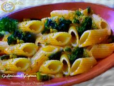 Pasta broccoli e olio rosso calabrese