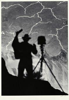 Self Portrait (autoritratto), Monument Valley, Utah, 1958